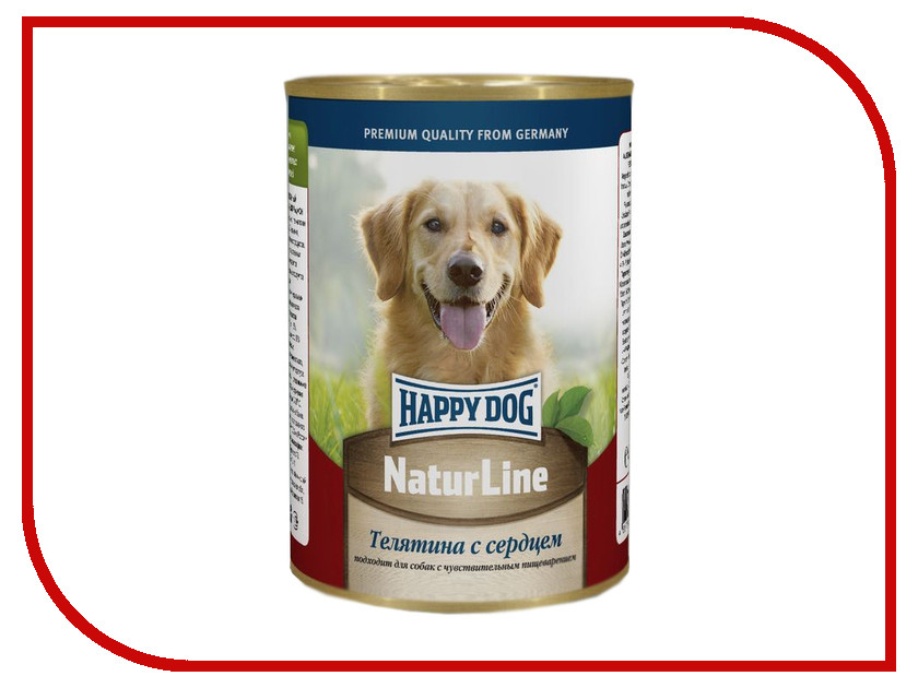 Корм Happy Dog Телятина/Сердце 400g 71427