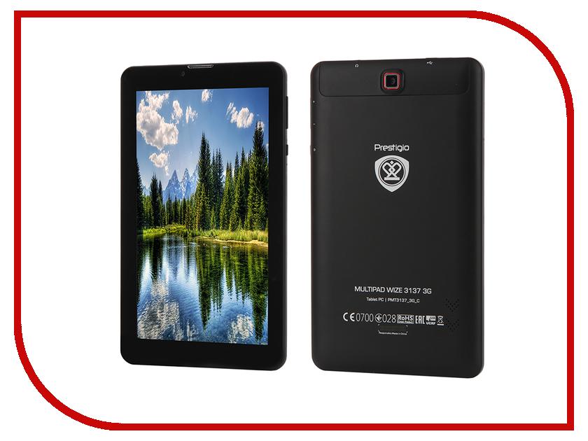 Планшет Prestigio MultiPad Wize PMT3137 3G Black PMT3137_3G_C_CIS (MTK8312 1.3 GHz/512Mb/8Gb/GPS/3G/Wi-Fi/Cam/7.0/1024x600/Android)<br>