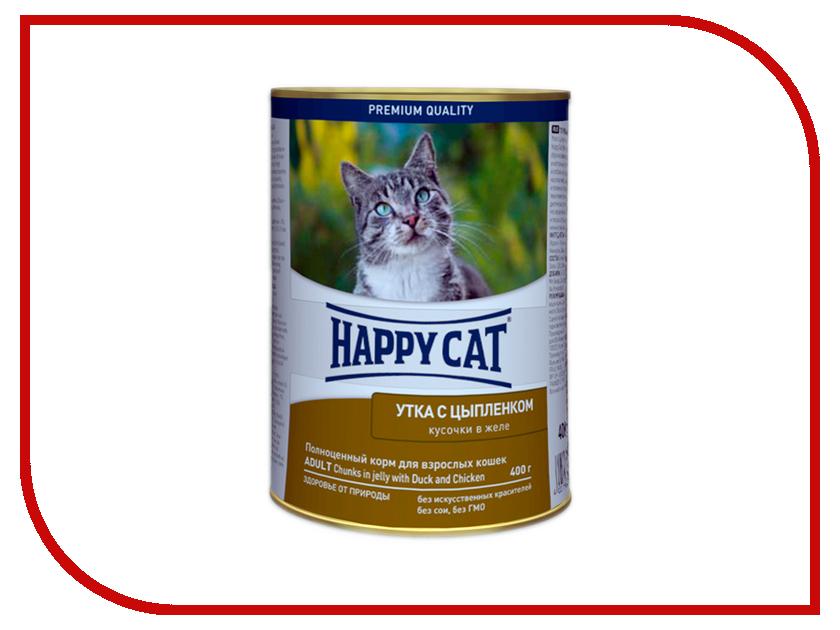 Корм Happy Cat Утка и цыплёнок 400g