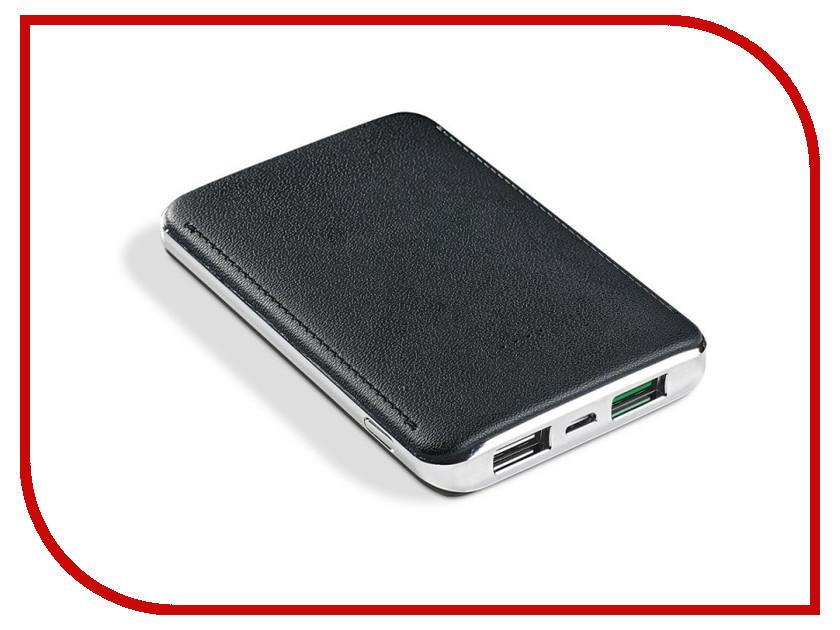 Аккумулятор Celly Power Bank 5000 mAh 2.4A Black PB5000TURBO