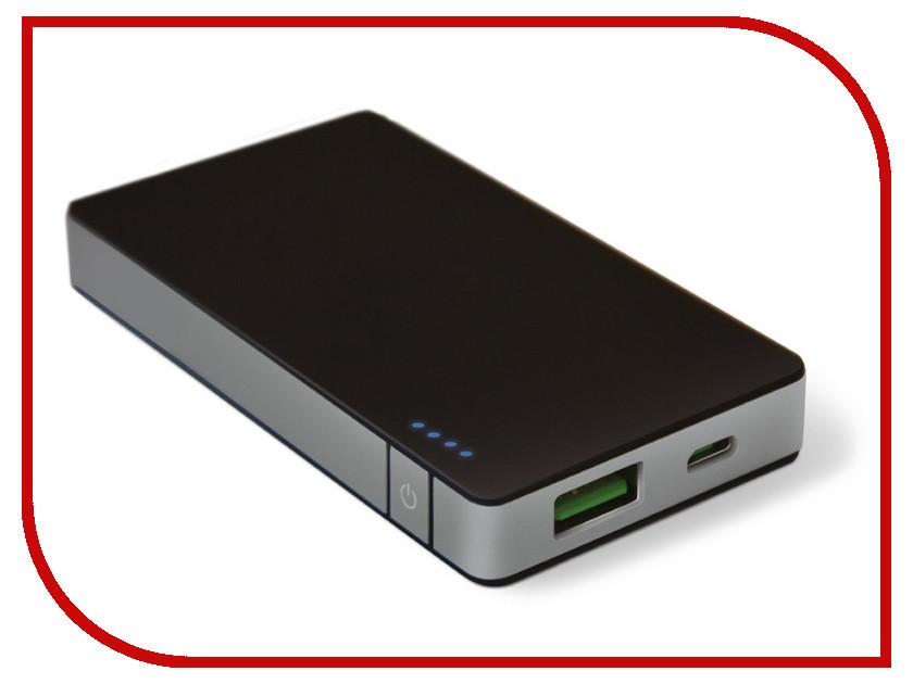 Аккумулятор Celly Power Bank 4000 mAh 1.5A Black-Silver PB4000ALUSV<br>