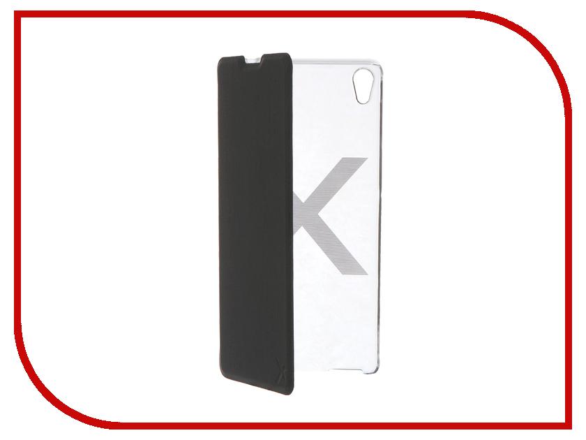 Аксессуар Чехол Sony Xperia XA Muvit MFX Folio Case Black SEEAF0044<br>