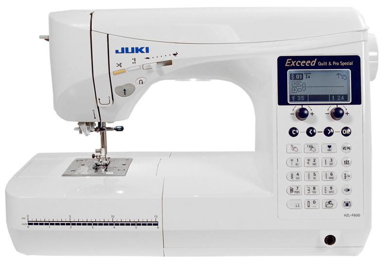 все цены на Швейная машинка Juki HZL-F 600 онлайн