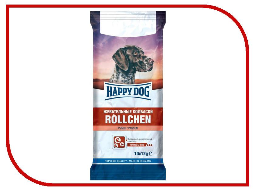 Корм Happy Dog Жевательные колбаски с рубцом 120g 190101/0128<br>