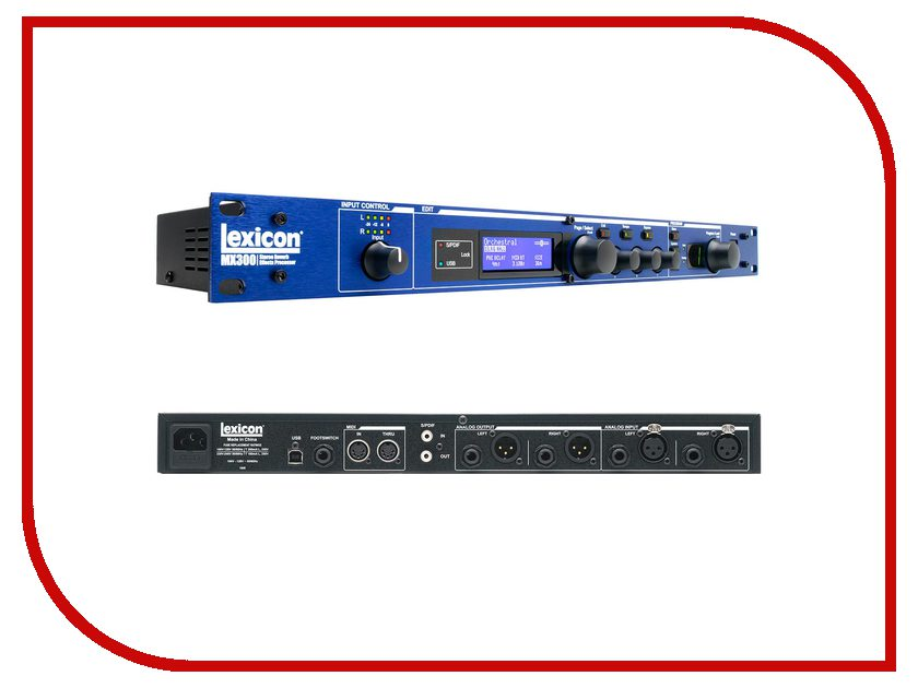Вокальный процессор Lexicon MX300<br>