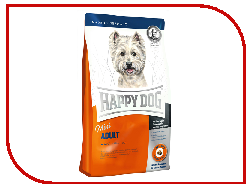 Корм Happy Dog Mini Adult 4kg 60002<br>