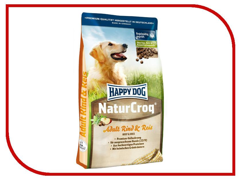 Корм Happy Dog НатурКрок Говядина/Рис 1kg 02447<br>