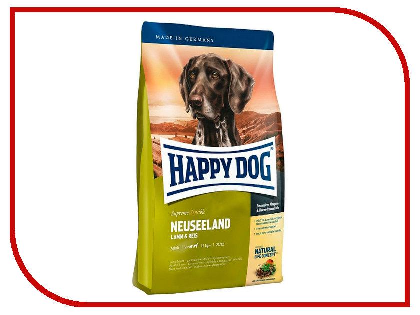 Корм Happy Dog Ягненок/Рис 1kg 03553/4075 корм happy dog vet diet struvit курица ягненок морепродукты 12 5kg для собак