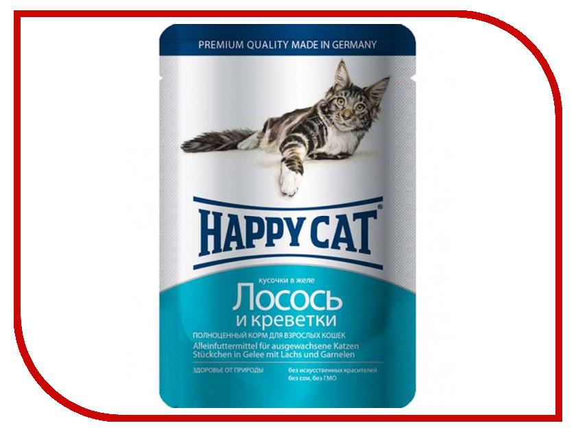 Корм Happy Cat Лосось/Креветки 100g 1002310