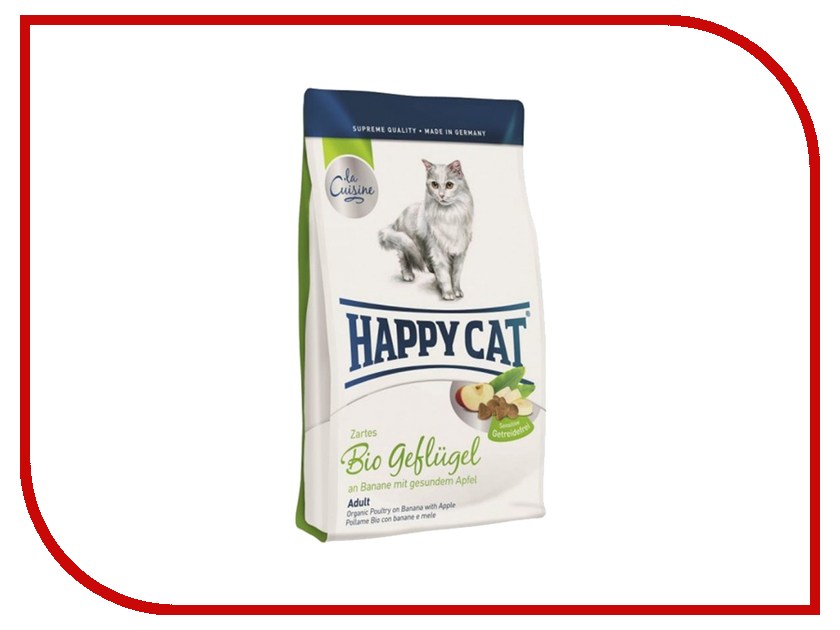 Корм Happy Cat Adult Bio Птица 300g 70130<br>