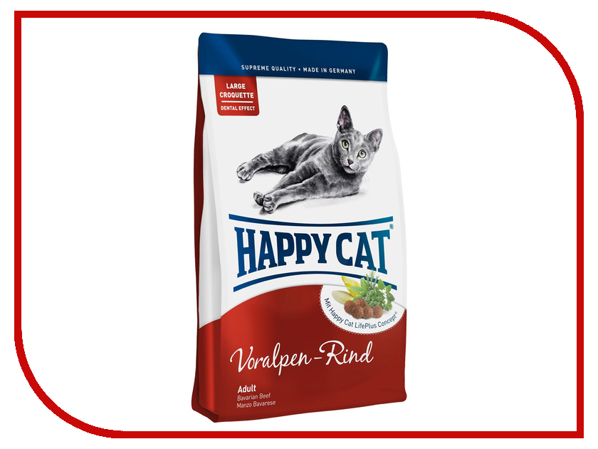 Корм Happy Cat Adult Альпийская Говядина 10kg 70040