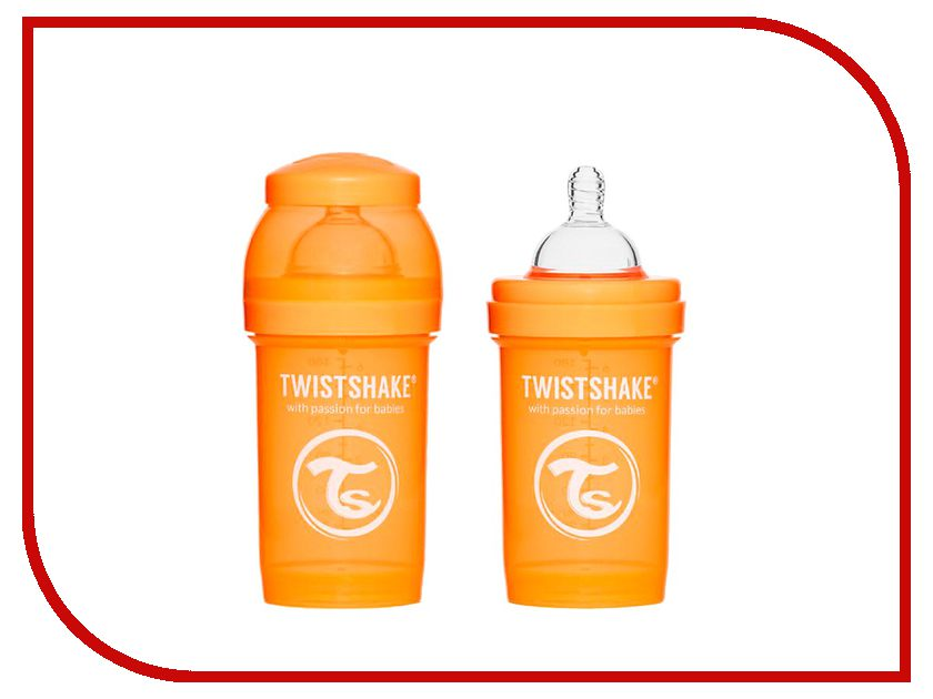 Бутылочка Twistshake 180ml Orange 780003