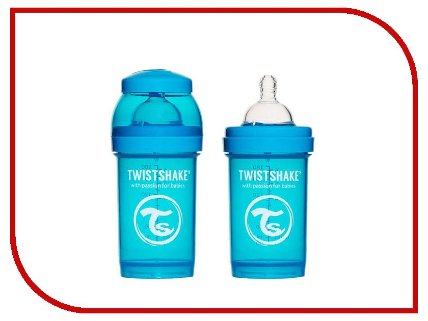 Бутылочка Twistshake 180ml Blue 780002