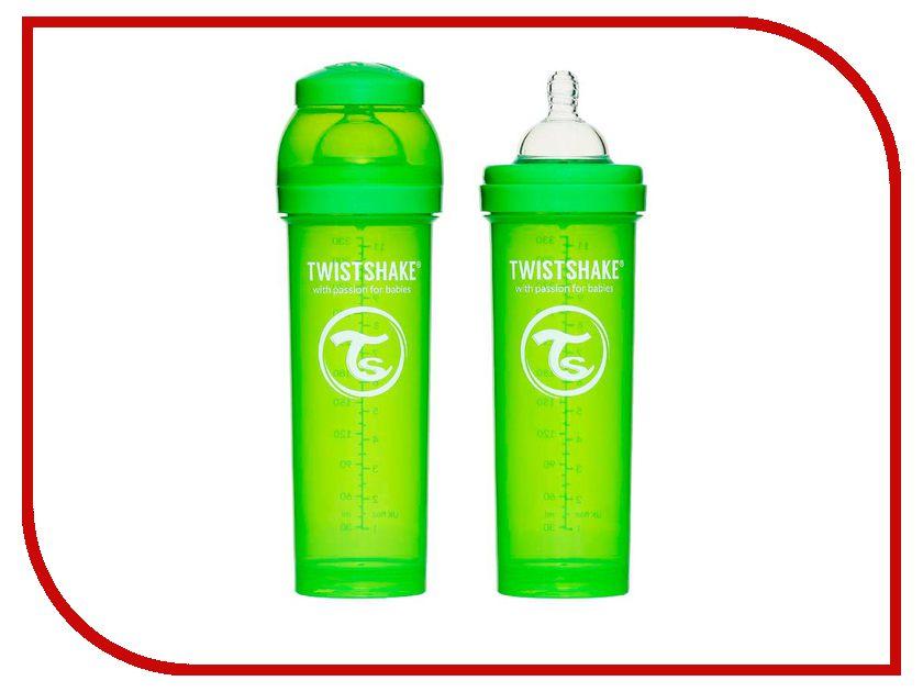 Бутылочка Twistshake 330ml Green 780016<br>