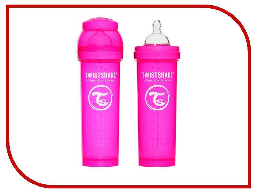 ��������� Twistshake 330ml Pink 780013