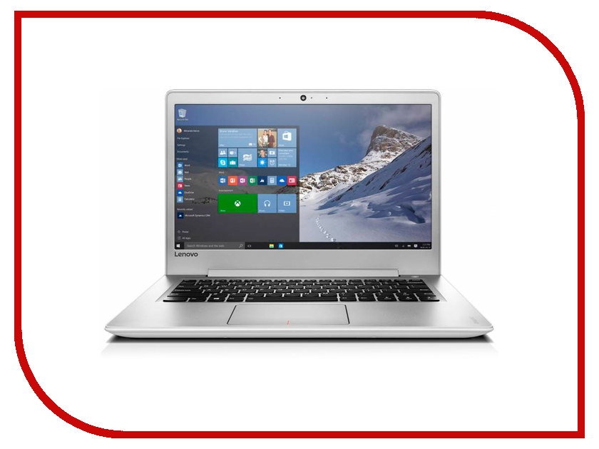 Ноутбук Lenovo IdeaPad 510S-14ISK 80TK006CRK (Intel Core i3-6100U 2.3 GHz/4096Mb/500Gb/No ODD/Intel HD Graphics/Wi-Fi/Cam/14.0/1366x768/Windows 10 64-bit)<br>