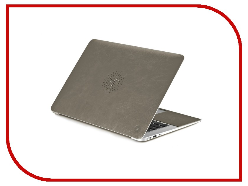 Аксессуар Чехол 13-inch Cozistyle Leather Skin Grey CLSPR1304<br>