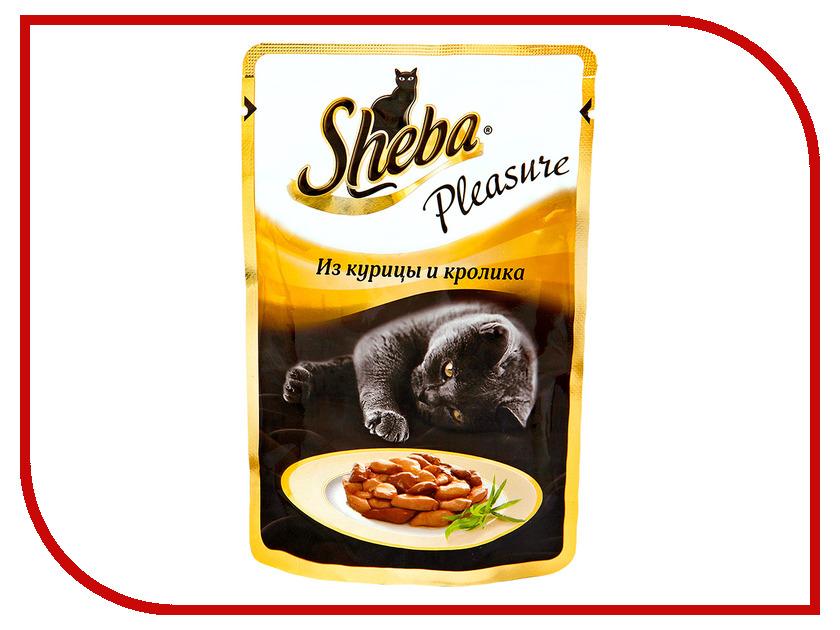 Корм Sheba Курица / Кролик 85g для кошек YH856 / 10161703