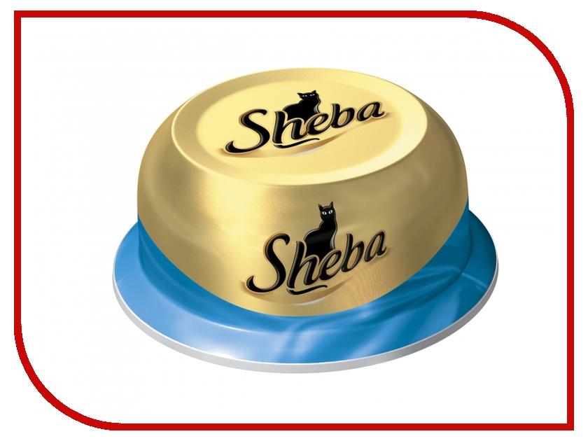 Корм Sheba Сочный Тунец 80g для кошек 10116244/WW368<br>