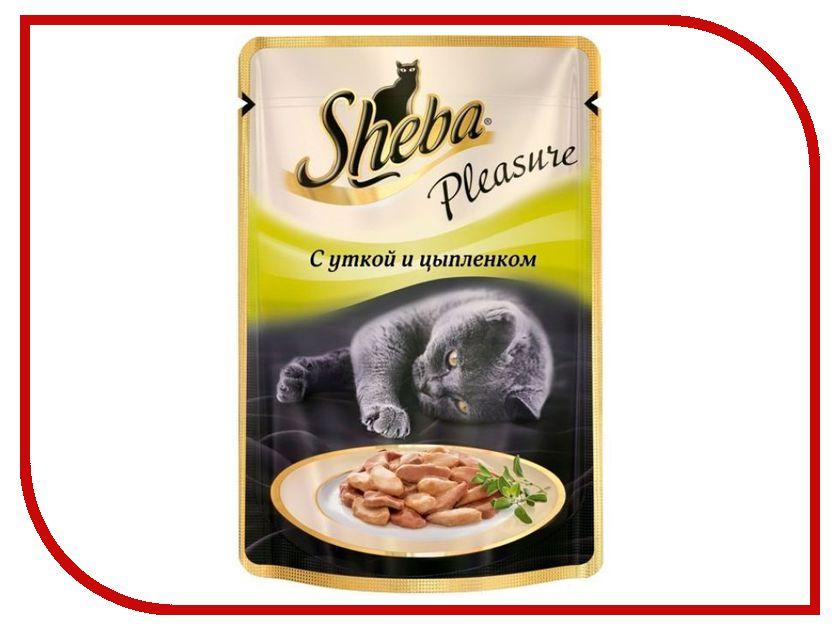 Корм Sheba Утка/Цыпленок 85g для кошек 10122154 / 10161705