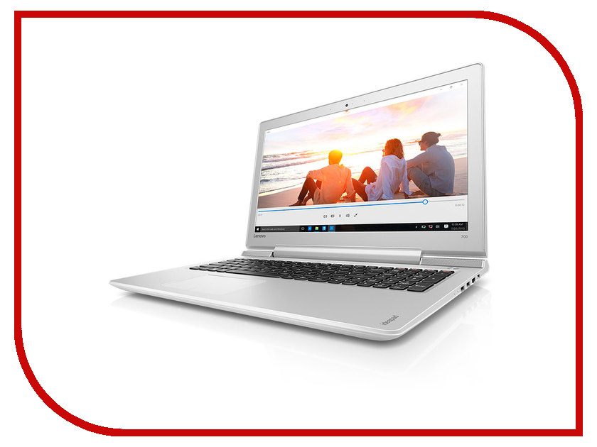 Ноутбук Lenovo IdeaPad 700-15ISK 80RU002RRK (Intel Core i5-6300HQ 2.3 GHz/8192Mb/1000Gb/No ODD/nVidia GeForce GTX 950M 2048Mb/Wi-Fi/Cam/15.6/1920x1080/Windows 10 64-bit)<br>