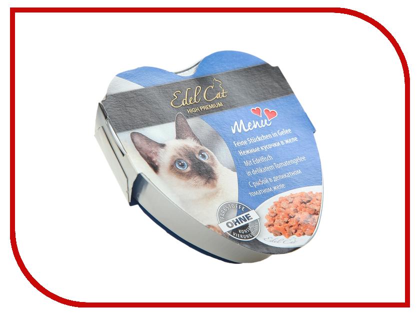 Корм Edel Cat Рыба в томатном желе 85g для кошек 17408
