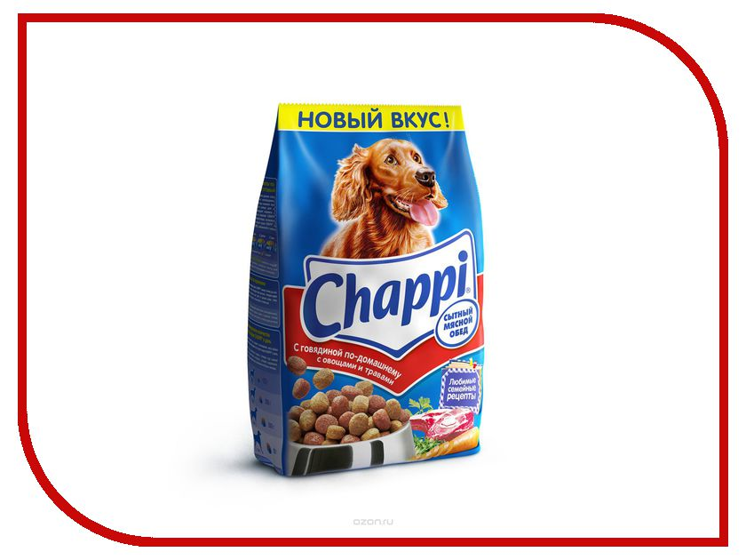 Корм Chappi Говядина по-домашнему 2.5kg YY057<br>