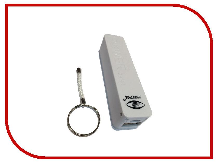 Аккумулятор Prestige PB-2600 2600 mAh White