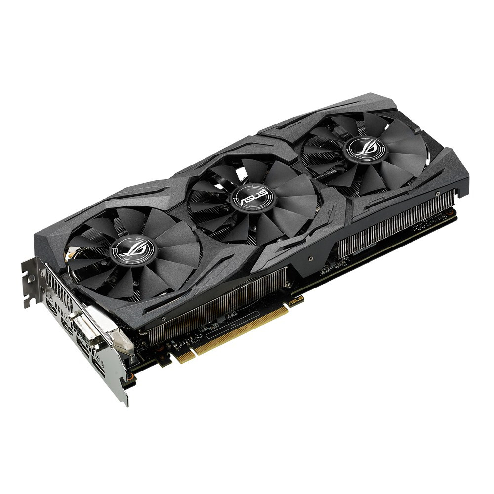 цена на Видеокарта ASUS GeForce GTX 1070 1657Mhz PCI-E 3.0 8192Mb 8000Mhz 256 bit DVI 2xHDMI HDCP STRIX-GTX1070-O8G-GAMING