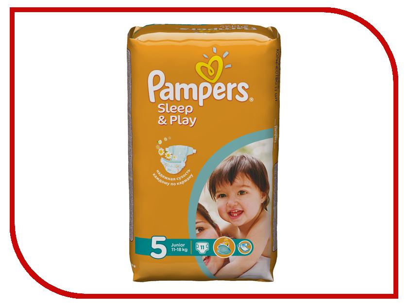 Подгузники Pampers Sleep & Play Junior 11-18кг 11шт 4015400147749