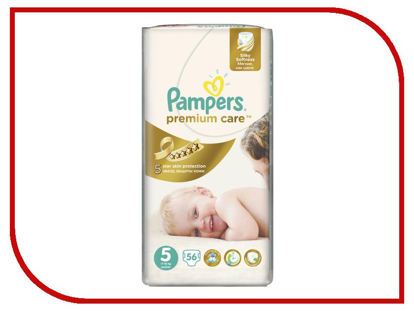 Подгузники Pampers Premium Care Junior 11-18кг 56шт 4015400507550