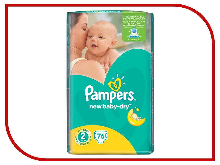 Подгузники Pampers New Baby-Dry Mini 3-6кг 76шт 4015400735878