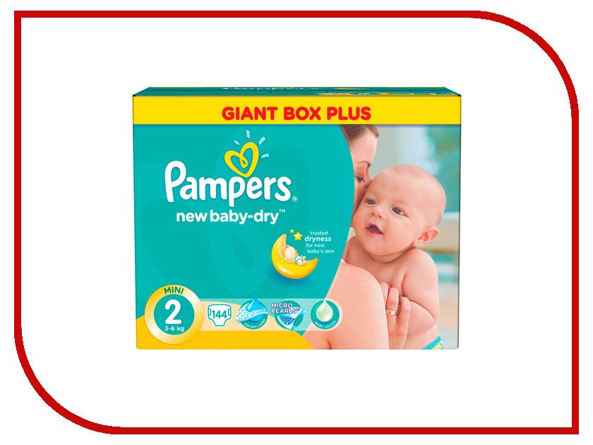 Подгузники Pampers New Baby-Dry Mini 3-6кг Малая 144шт 4015400737193