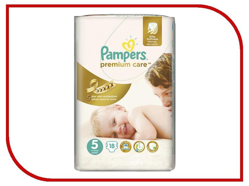 Подгузники Pampers Premium Care Junior 11-18кг 18шт 4015400740728<br>