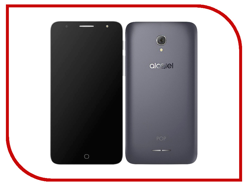 Сотовый телефон Alcatel OneTouch 5056D Pop 4 Plus UV Slate<br>