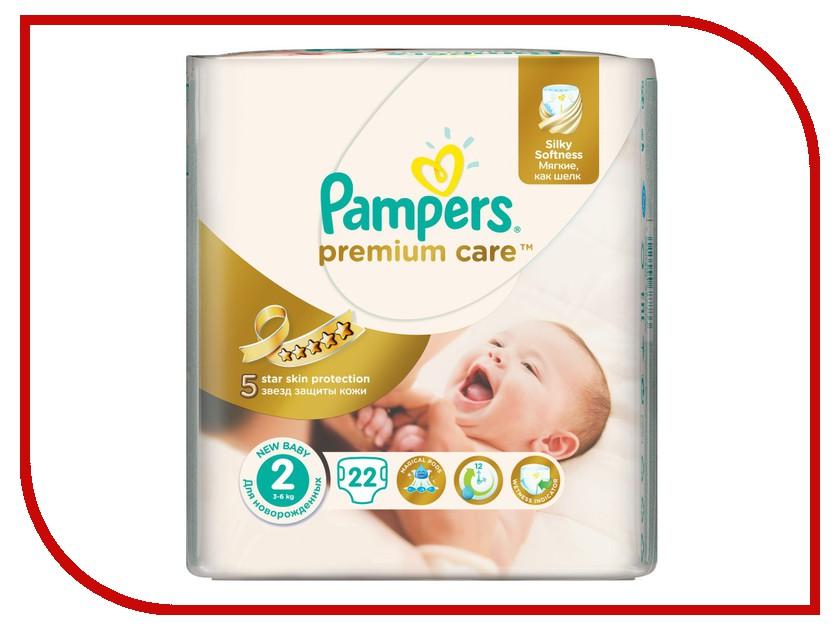 Подгузники Pampers Premium Care Mini 3-6кг 22шт 4015400687733
