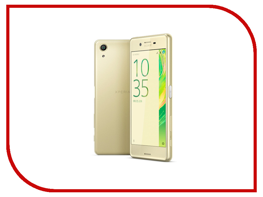 Сотовый телефон Sony F8132 Xperia X Performance Dual Lime Gold<br>