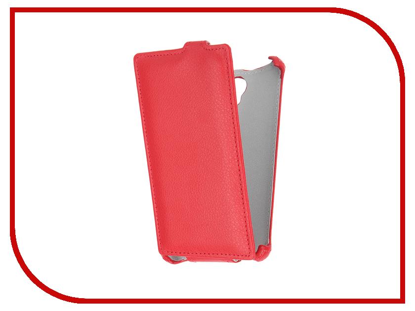 Аксессуар Чехол Prestigio Wize K3 Gecko Red GG-F-PRESK3-RED