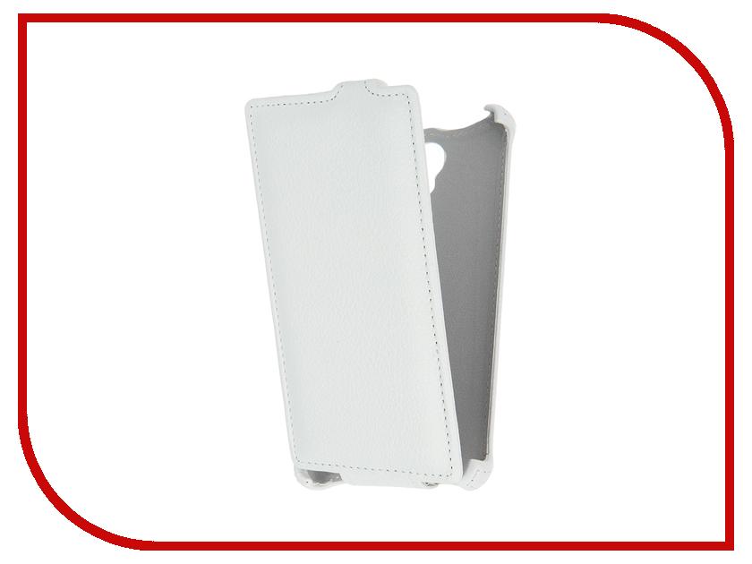 Аксессуар Чехол Prestigio Wize K3 Gecko White GG-F-PRESK3-WH