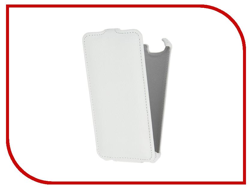 Аксессуар Чехол Lenovo Vibe C A2020 Gecko White GG-F-LENVIBEC-WH<br>