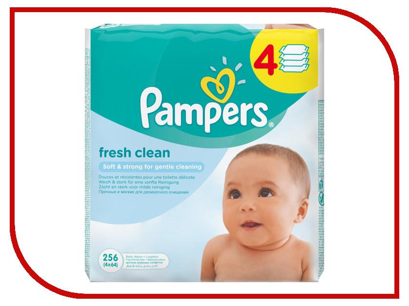 Салфетки Pampers Fresh Clean 4х64 4015400622734