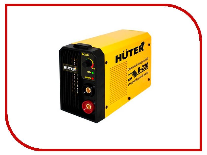 Сварочный аппарат Huter R-220 65/48 сварочный инверторный аппарат huter r 180