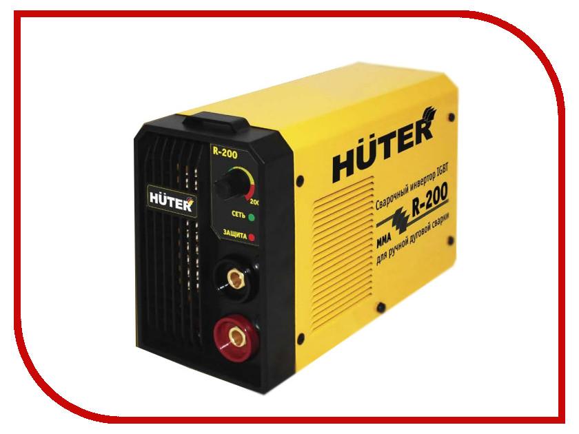 Сварочный аппарат Huter R-200 65/47 сварочный инверторный аппарат huter r 180