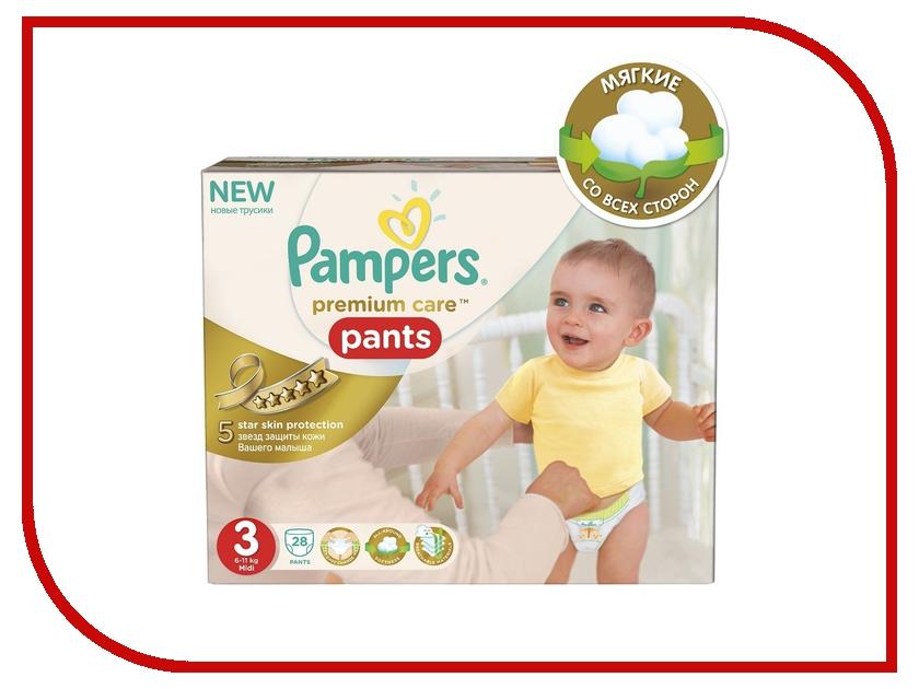 Подгузники Pampers Premium Care Pants Midi 6-11кг 28шт 4015400687894
