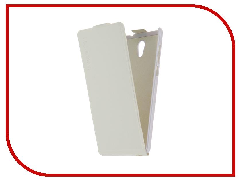 Аксессуар Чехол HighScreen Power Five / Power Five Pro Flip Case White