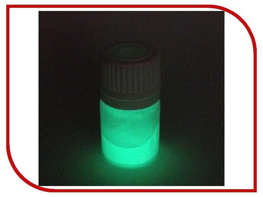 Набор для лепки Краситель светящийся для полиморфуса 3г Light Green