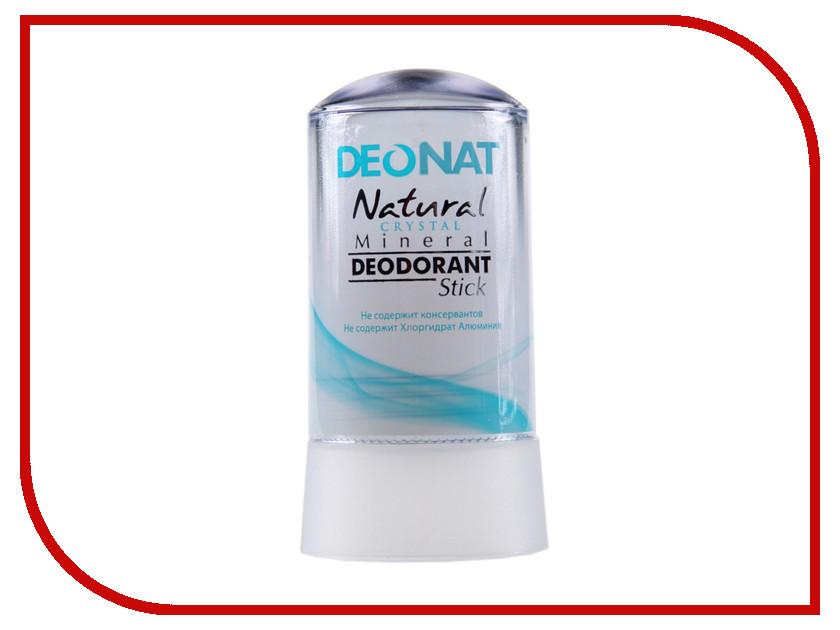 Дезодорант DeoNat кристалл 60г цельный дезодорант deonat кристалл 100г с соком мангостина