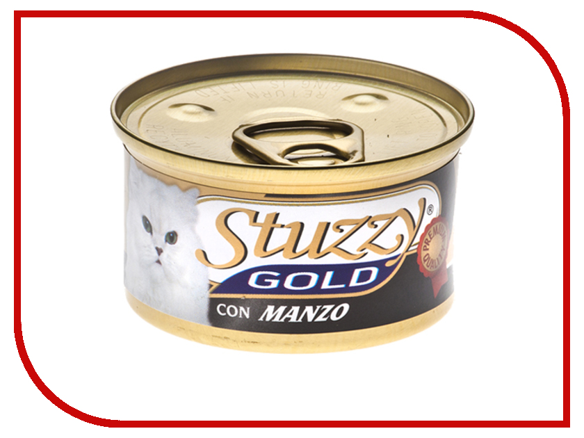 Корм Stuzzy Gold Говядина 85g для кошек 132.C420