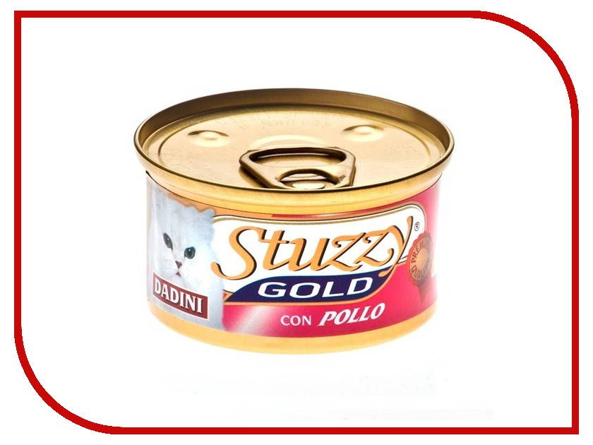 Корм Stuzzy Gold Курица 85g для кошек 132.C434<br>