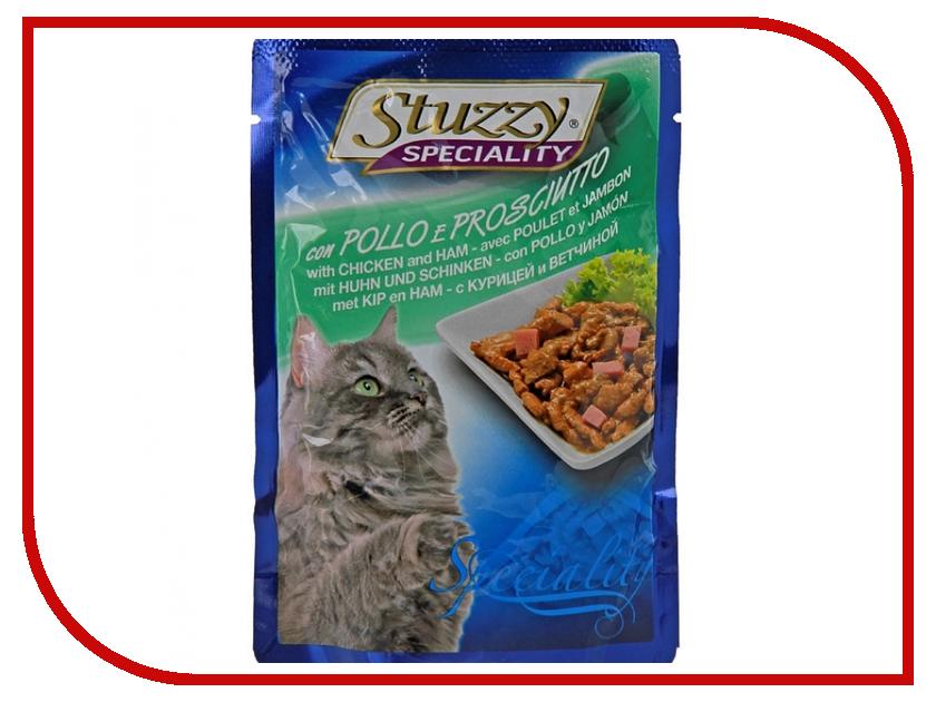 Корм Stuzzy Speciality Cat Курица и ветчина 100g для кошек 131.2504<br>